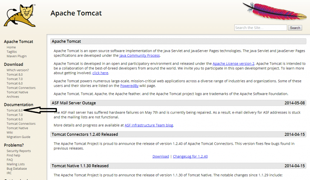 installing and configure apache tomcat server 2