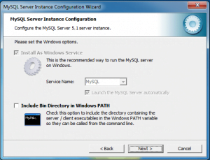 installing and configuring mysql 16