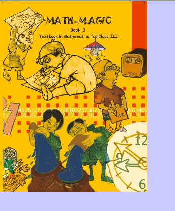 Mathematics Text Book Math Magic For Class 3 Cbse Ncert