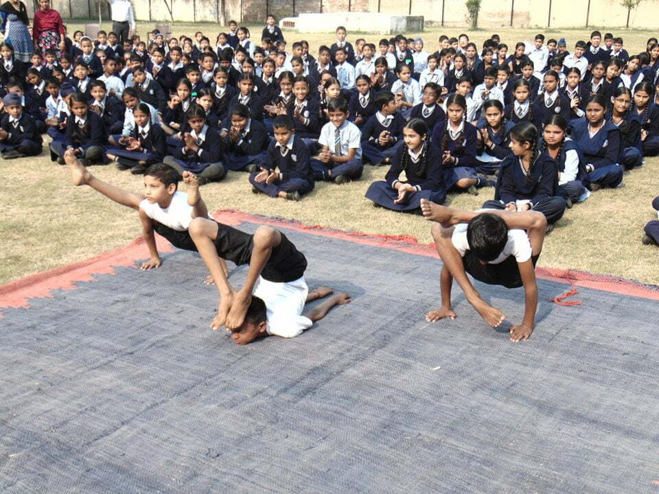 yoga at gmhs34 chandigarh